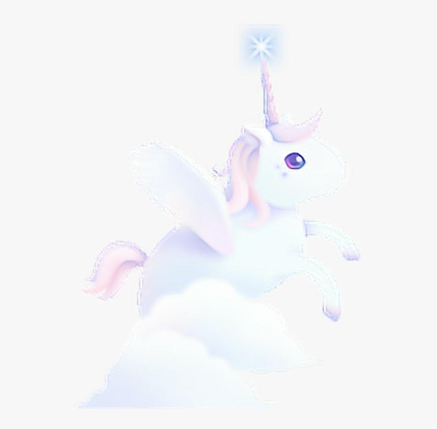 獨角獸 Dreamy Cute Unicorn Fancy Colorful Watercolor Ligh - Unicorn, HD Png Download, Free Download