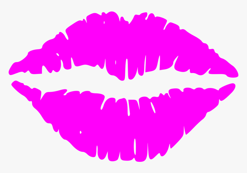 Lips, Mouth, Kiss, Lipstick, Woman, Make-up, Passion - Black Lips Clip Art, HD Png Download, Free Download