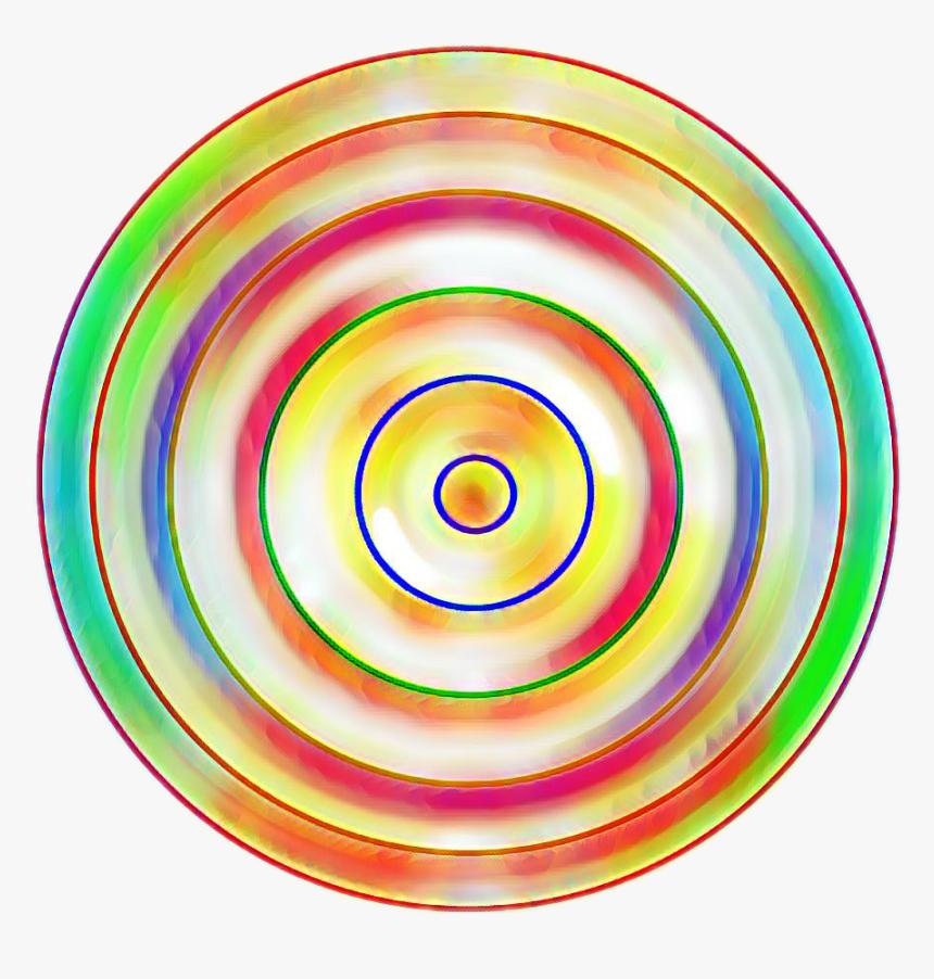 #rainbow #circles #circle #colorful #colourful #ball, HD Png Download, Free Download