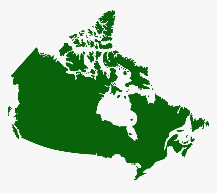 Map Of Canada, HD Png Download, Free Download