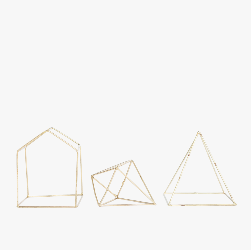 Geometric Decorative Shapes, Set Of - Triangle, HD Png Download, Free Download