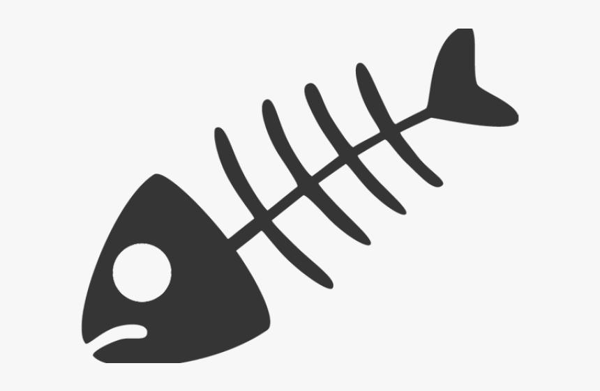 Dead Cartoon Fish Fish Bone Vector Png Transparent Png Kindpng