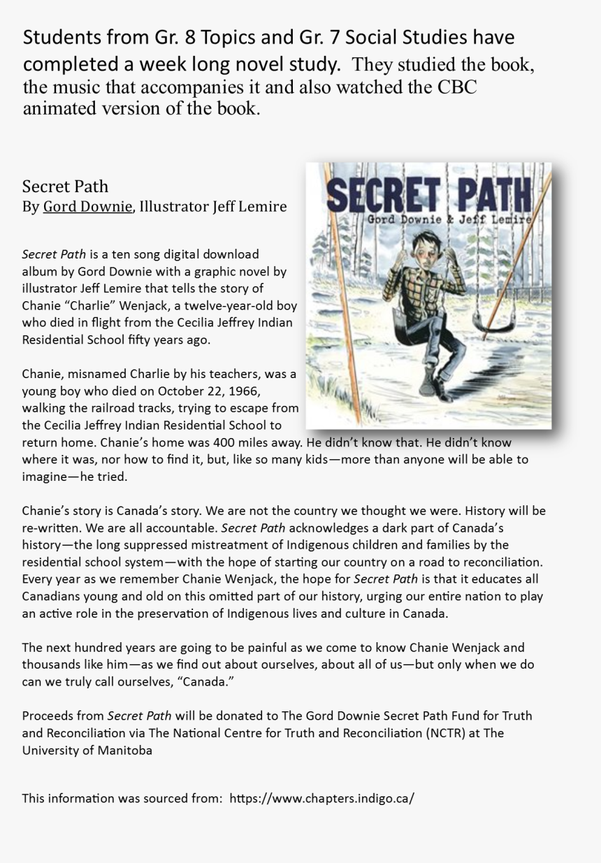 Canoe Polo , Png Download - Secret Path Gord Downie Book, Transparent Png, Free Download