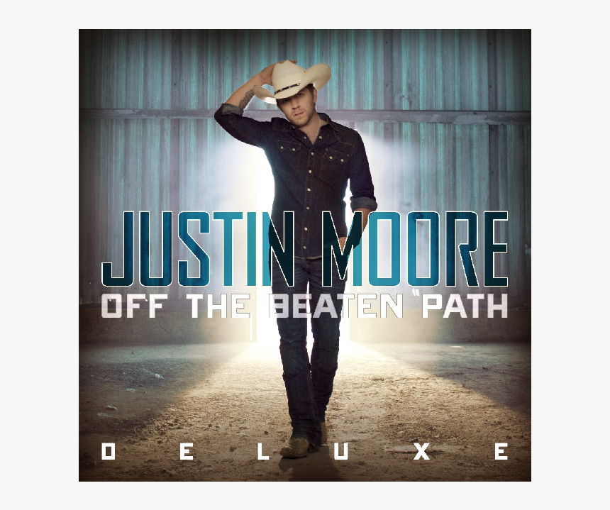 """Justin Moore Deluxe Cd Off The Beaten Path""""  Title=""""justin - Justin Moore Album Cover, HD Png Download, Free Download"""