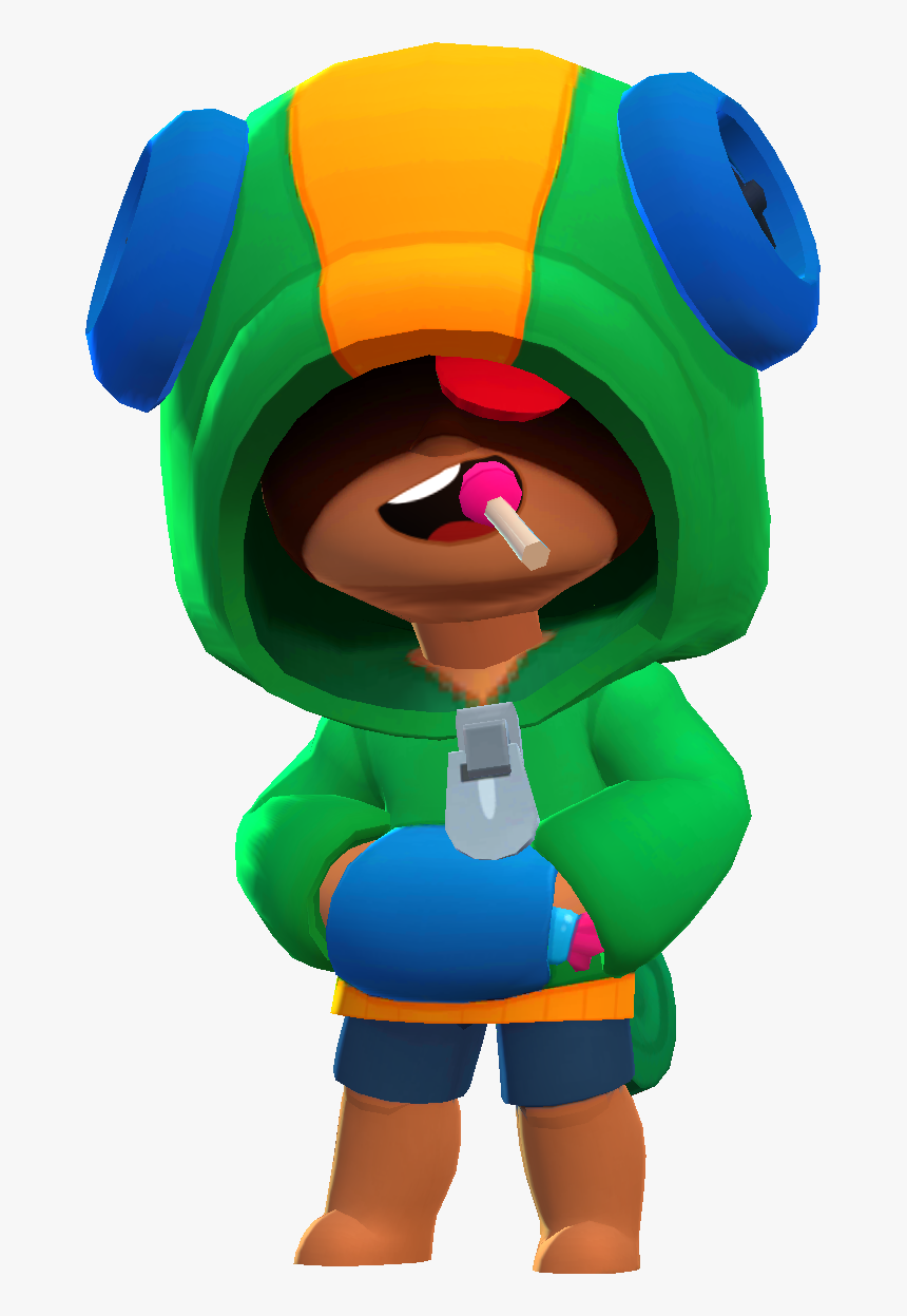 Transparent Leon Png - Leon Din Brawl Stars, Png Download, Free Download