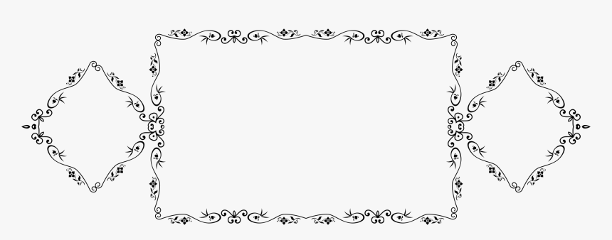 This Free Icons Png Design Of Decorative Vintage Style - Decorative Vintage Style Frame, Transparent Png, Free Download