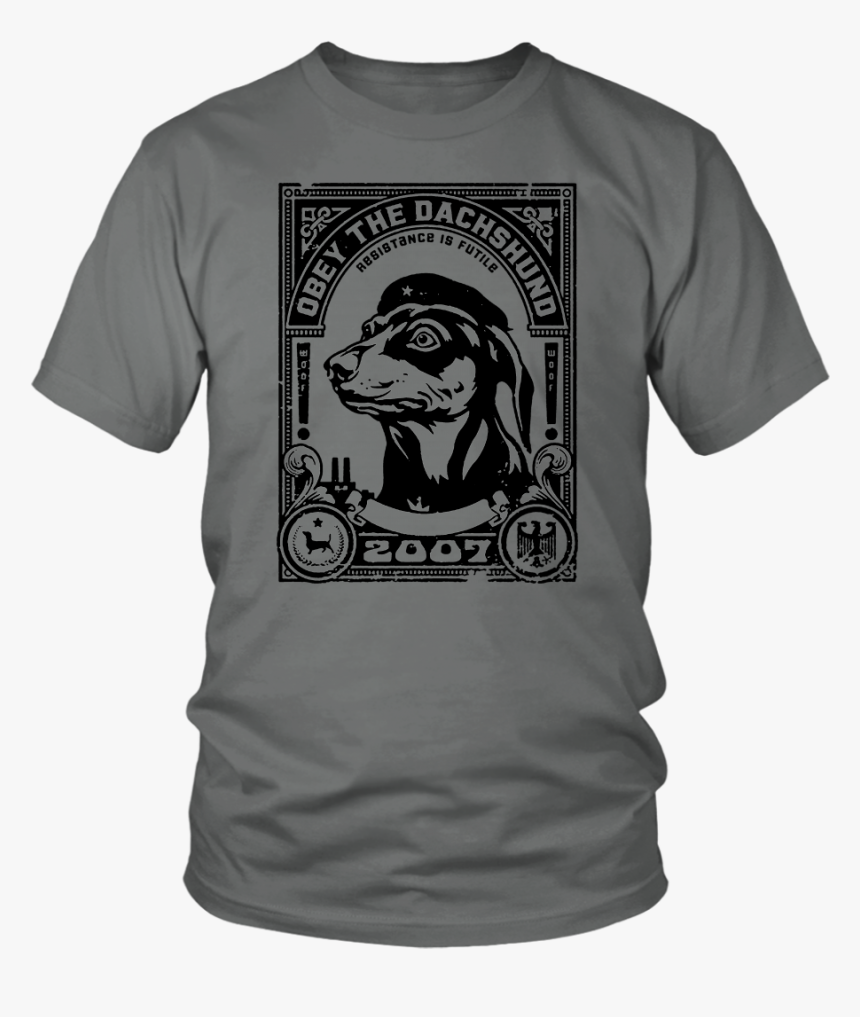 Obey The Dachshund - Love U 3000 Iron Man, HD Png Download, Free Download