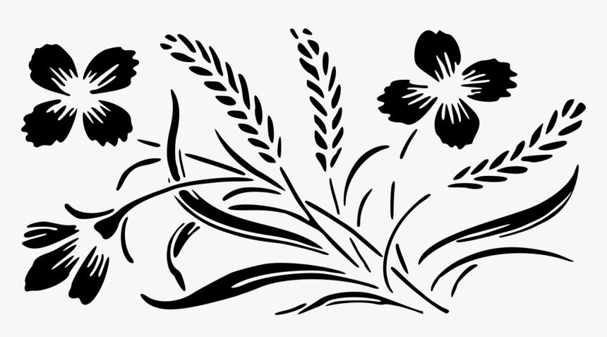 Transparent Wedding Flowers Clipart - Wedding Flower Design Clipart, HD Png Download, Free Download