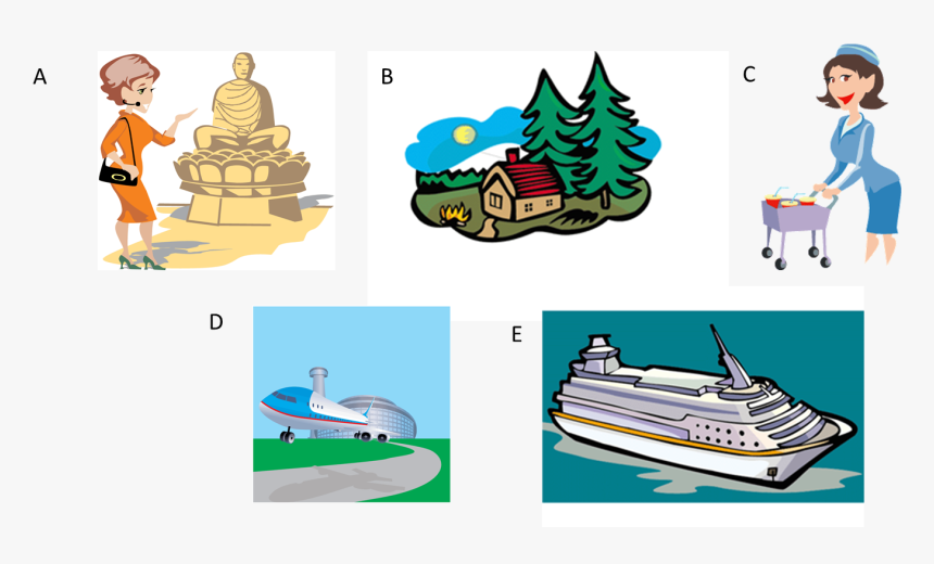Cruise Clipart Boarding Pass - Cabin Clip Art, HD Png Download, Free Download