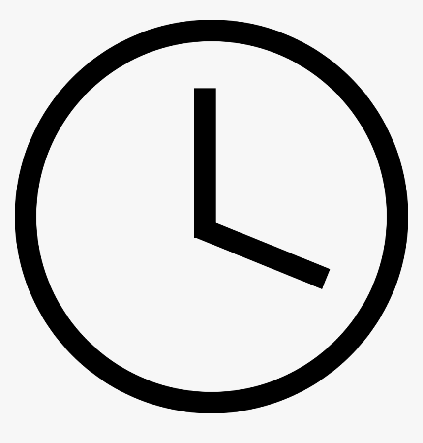 Transparent Time Clock Png - Time Vector Icon Png, Png Download, Free Download