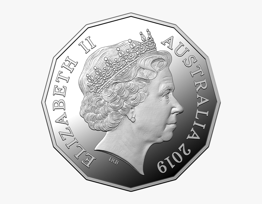 2019 50 Cent Fine Silver Proof Coin Product Photo Internal - New 50 Cent Coin Australia, HD Png Download, Free Download