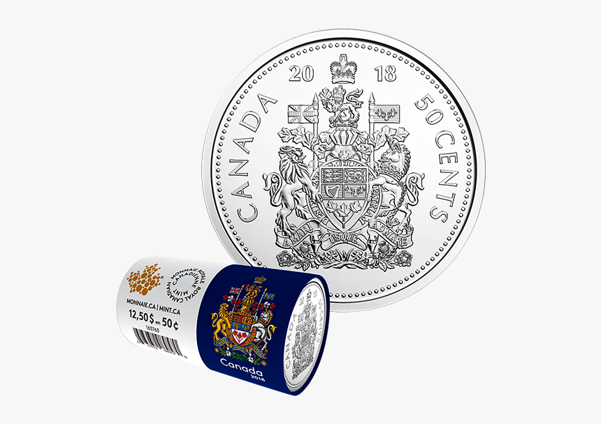 2018 Us 50 Cent Coin, HD Png Download, Free Download