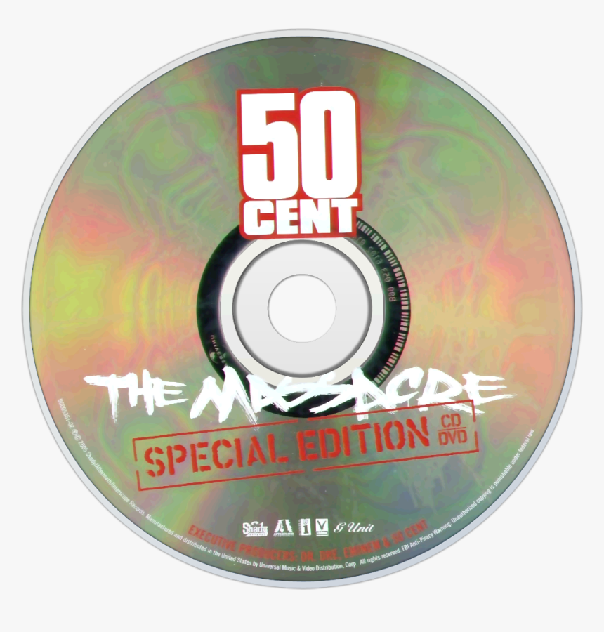 50 Cent The Massacre Special Edition Dvd , Png Download - 50 Cent The Massacre Special Edition Dvd, Transparent Png, Free Download