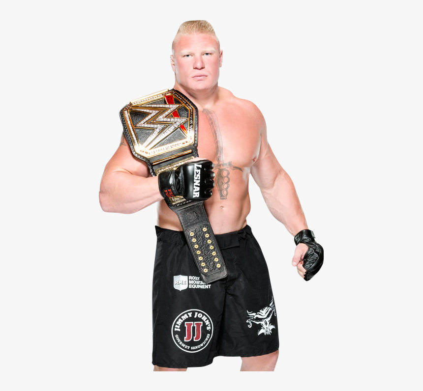 Brock Lesnar Wwe World Heavyweight Champion, HD Png Download, Free Download
