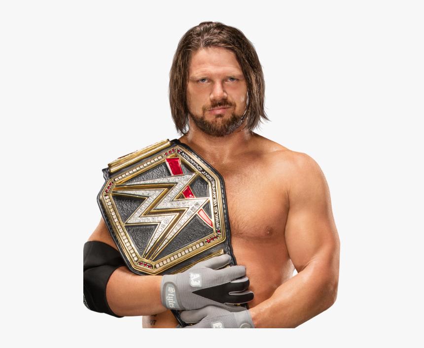 Wwe Aj Styles Universal Champion, HD Png Download, Free Download