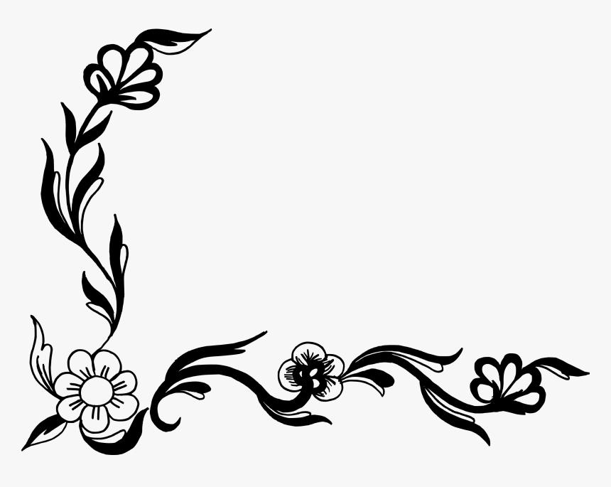 Design Flower Line Art, HD Png Download, Free Download