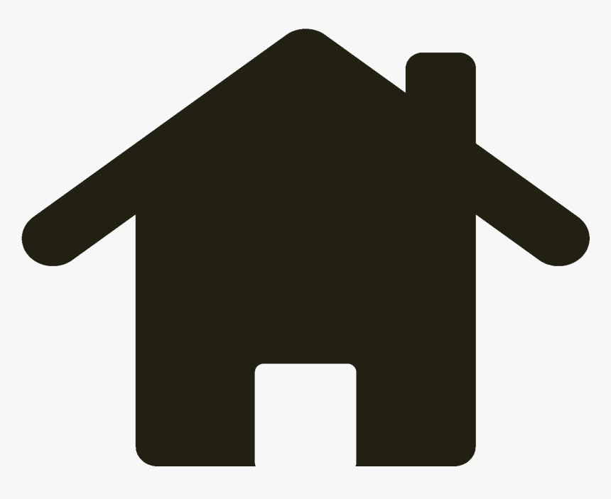 Free For Commercial Use High Resolution Home Icon White Background Hd Png Download Kindpng