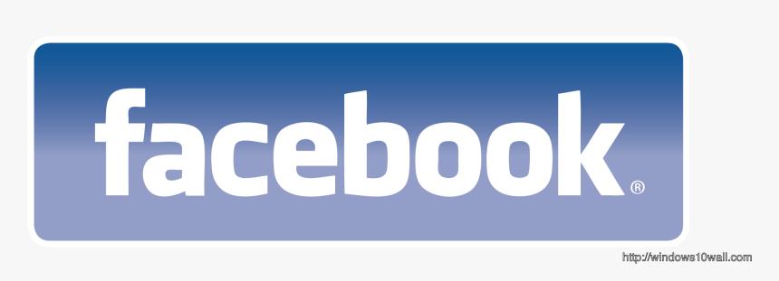 Facebook Logo Background Wallpaper - Facebook, HD Png Download, Free Download