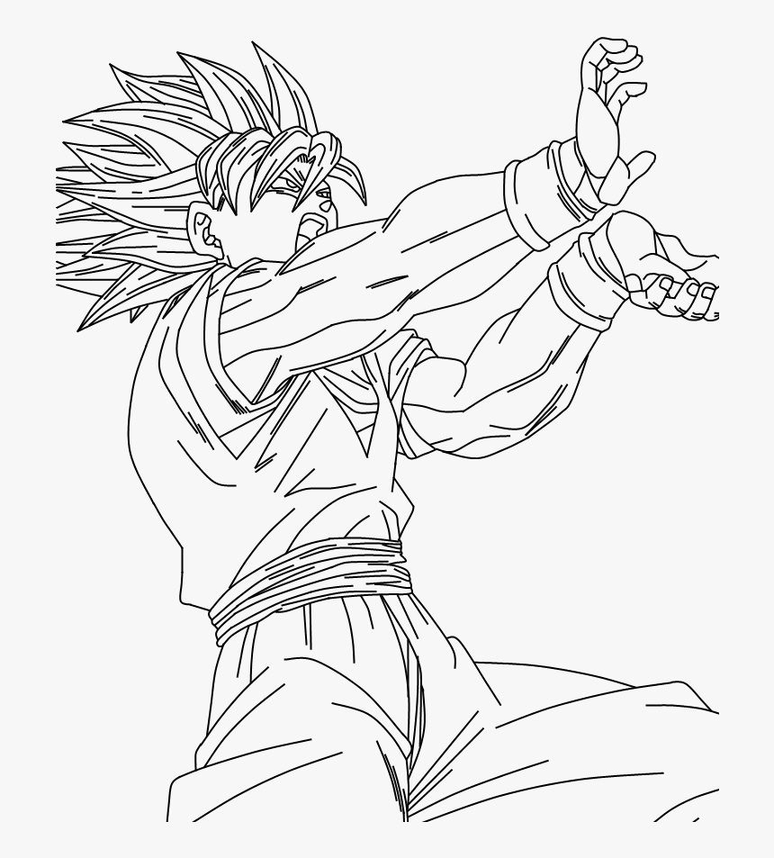 Son Goku Vegeta Super Saiyan 4 5 6dragon Balls Gt Af Goku Super