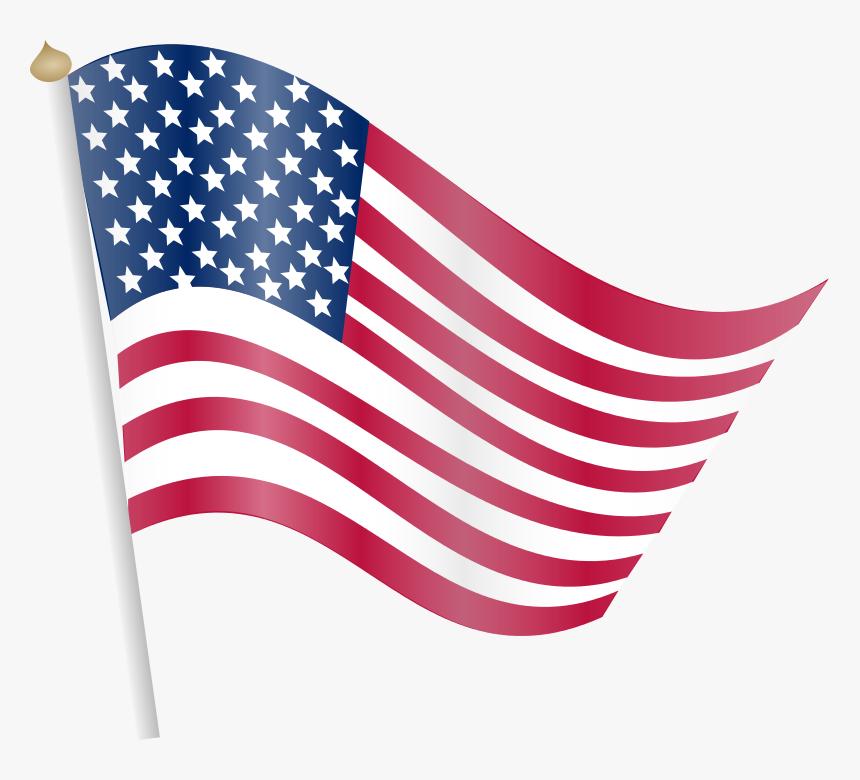 Cartoon American Flag American Flag Images Free Download Transparent Transparent Background American Flag Png Png Download Kindpng
