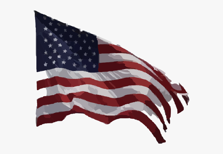 Usa Flag Png Real- - Us Flag Waving Png, Transparent Png, Free Download
