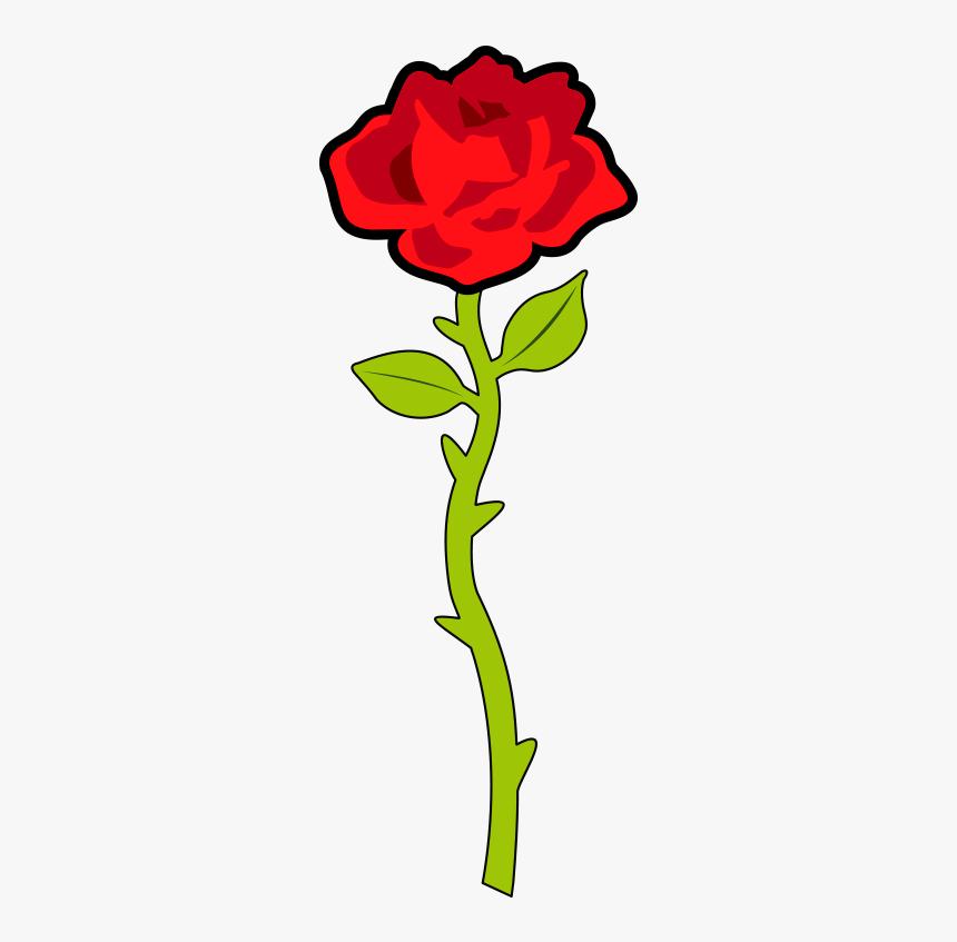 Single Rose Clip Art