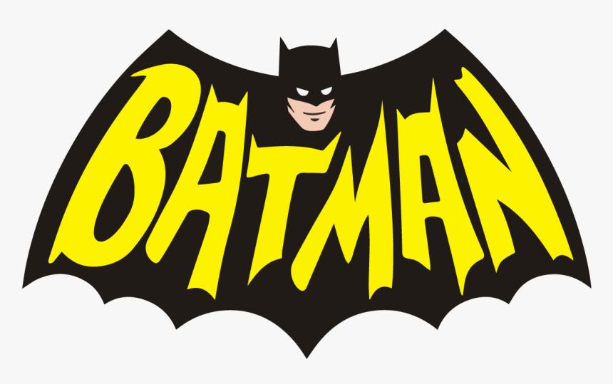 Batman Logo Vintage Retro Dc Comics 1966 Classic Tv - Batman Graphic Png, Transparent Png, Free Download