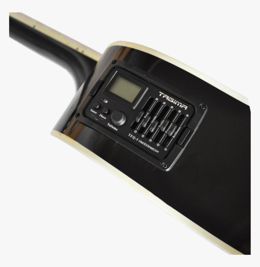 Violão Tagima Kansas Bk Com Afinador Digital E Equalizador - Gadget, HD Png Download, Free Download