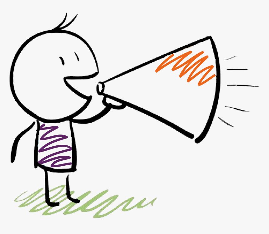 Imagenes De Coaching Educativo , Png Download - Megaphone Cartoon, Transparent Png, Free Download