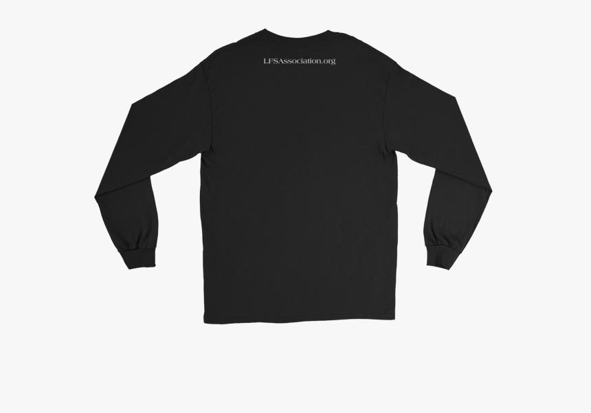 Black Long Sleeve T Shirt Mockup, HD Png Download, Free Download