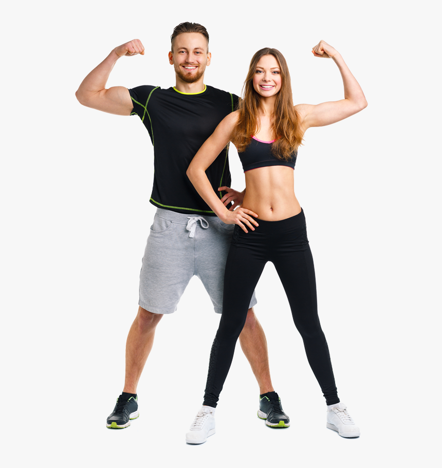 Athletic Man And Woman, HD Png Download, Free Download