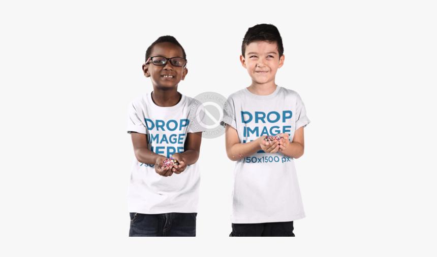 Kid Tshirt Mockup Placeit Kids T Shirt Mockup Featuring - Boy T Shirt Mockup, HD Png Download, Free Download
