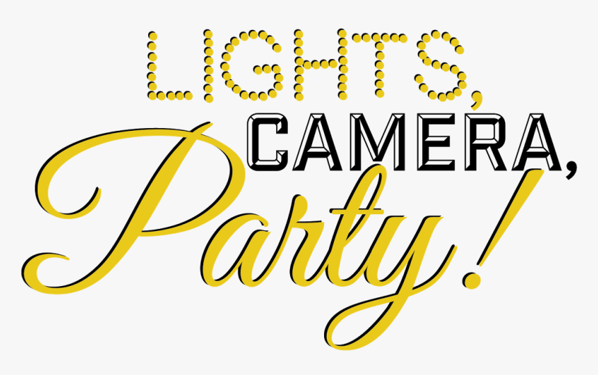 Lights Camera Party, HD Png Download, Free Download
