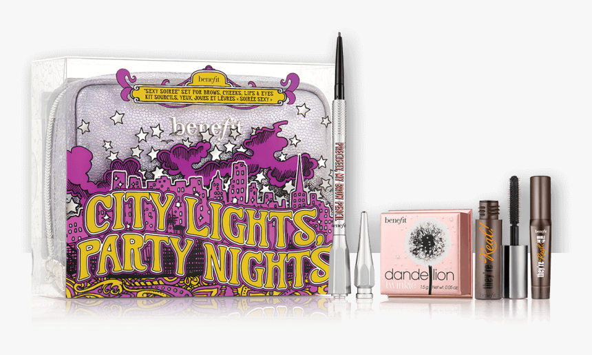 City Lights Party Nights - Benefit City Lights Party Nights, HD Png Download, Free Download