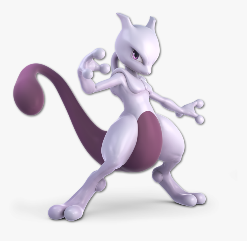 Super Smash Bros - Super Smash Bros Ultimate Mewtwo Png, Transparent Png, Free Download