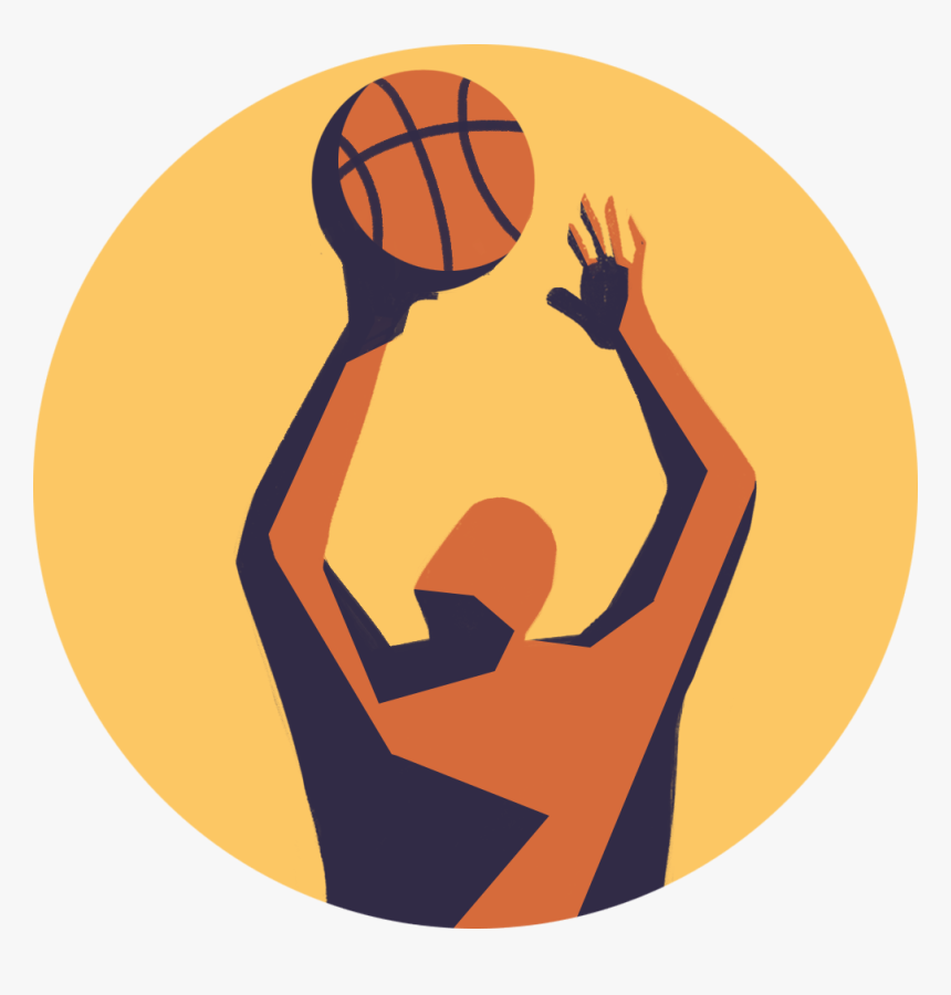 Transparent Basketball Icon Png - Shoot Basketball, Png Download, Free Download