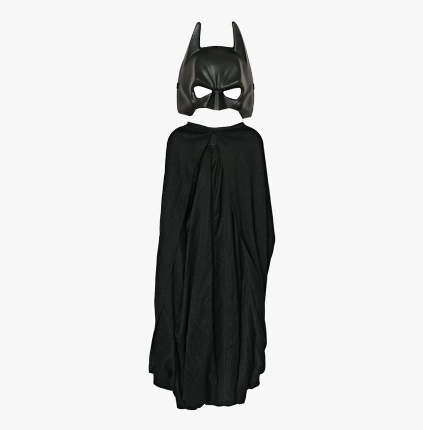 Batman Costume Cape Child Mask - Bat Man Mask And Hand, HD Png Download, Free Download