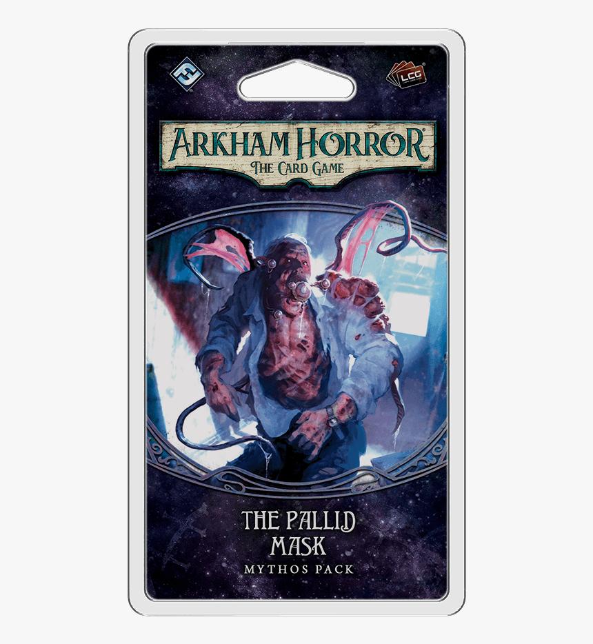 The Pallid Mask Mythos Pack - Arkham Horror Mythos Pack, HD Png Download, Free Download