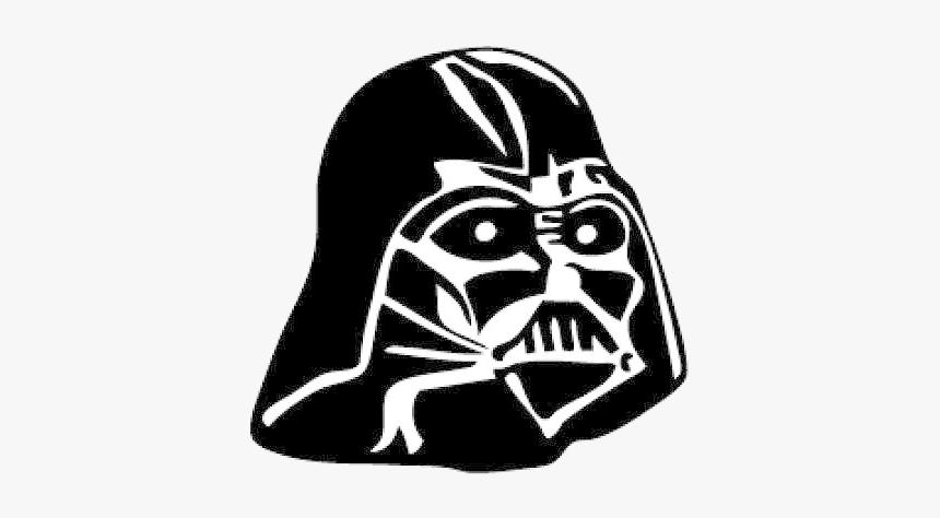 Darth Vader File Instant Eps Transparent Png - Darth Vader Cartoon Head, Png Download, Free Download