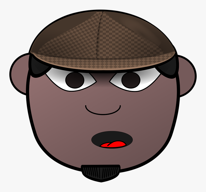 Detective, Victorian, Man, African-american, Black - Vector Graphics, HD Png Download, Free Download