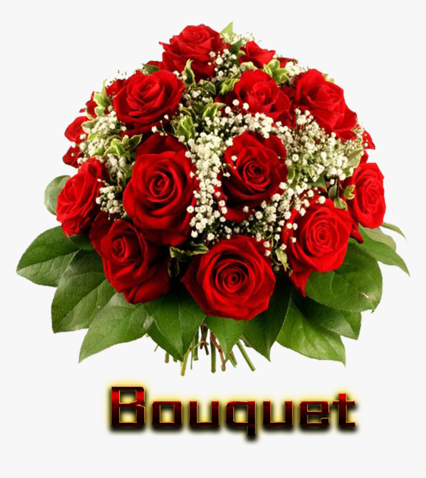 Bouquet Of Flowers Png Hd Png Names - Png Format Flower Png, Transparent Png, Free Download