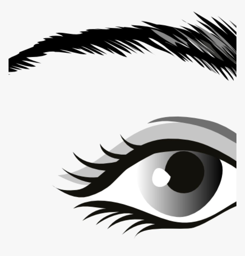 Eyes Clipart Black And White Eye Clip Art At Clker Eye Black And White Png Transparent Png Kindpng
