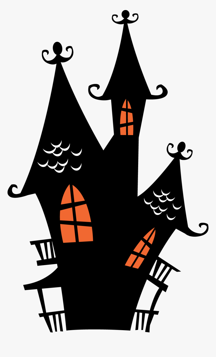 Halloween Film Series Haunted House Party Clip Art - Transparent Background Halloween Clip Art, HD Png Download, Free Download
