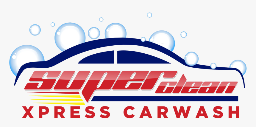 Superclean Xpress Carwash - Super Clean Xpress Car Wash, HD Png Download, Free Download