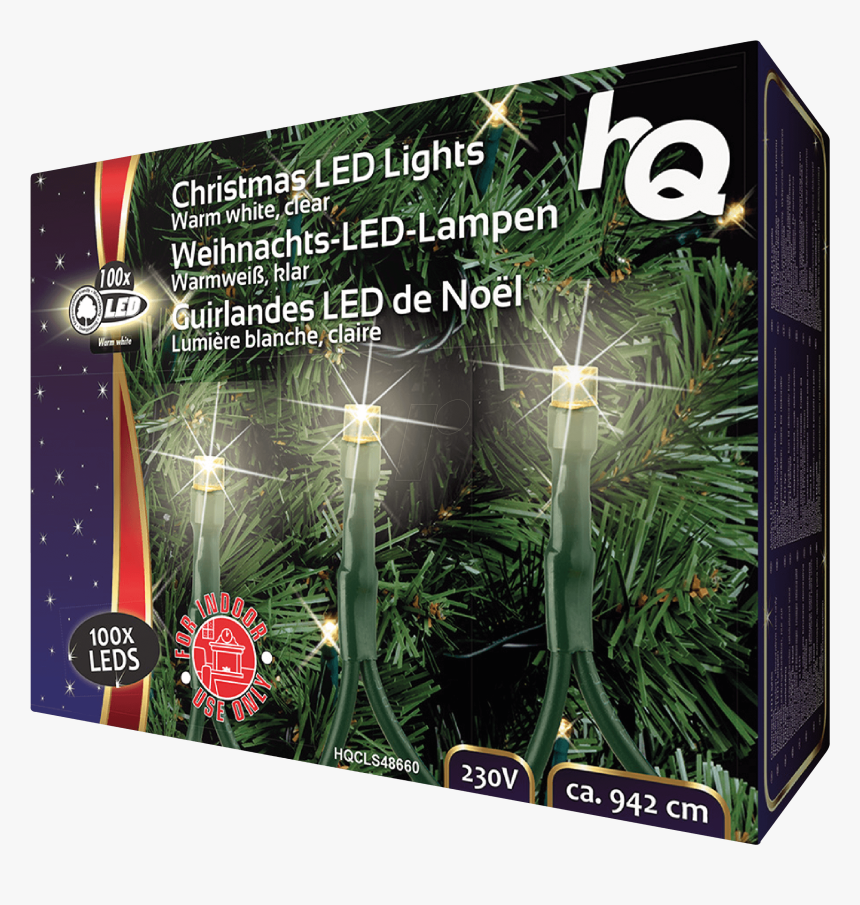 Christmas Light 100 Led - Light Ropes & Strings, HD Png Download, Free Download