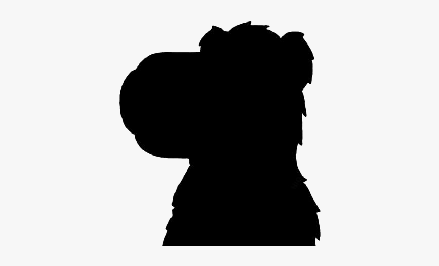 Dog Head Png Transparent Images - Silhouette, Png Download, Free Download