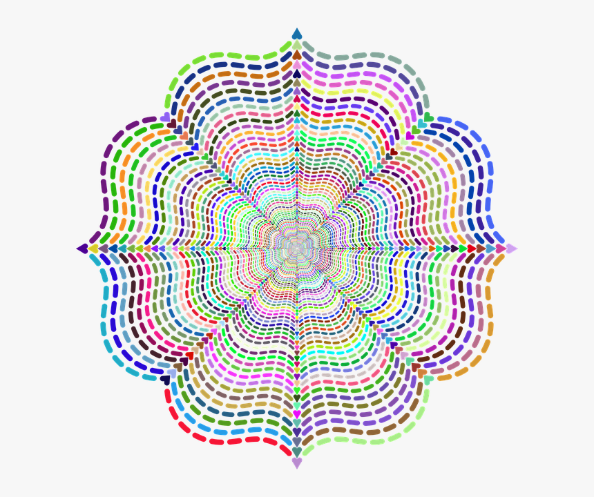 Abstract, Geometric, Colorful, Fancy, Shape, Ornamental - Abstraccion Geometrica, HD Png Download, Free Download