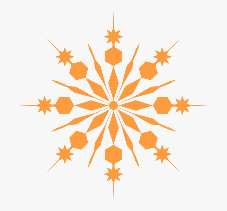 Transparent Copo De Nieve Png - Transparent Background Snowflake Png, Png Download, Free Download