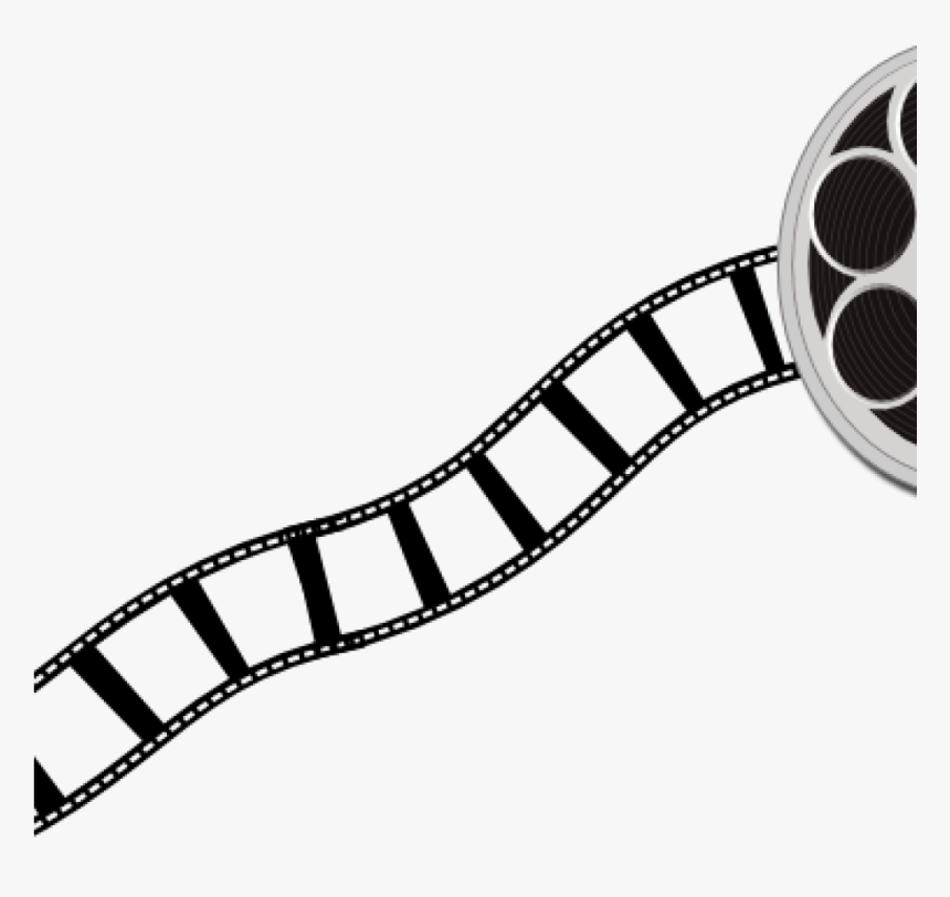 Movie Film Clipart Canister And Strip Clip Art At Clker - Film Strip Clip Art, HD Png Download, Free Download