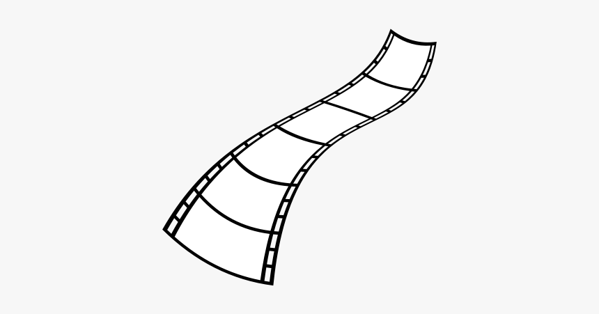 Film Strip - Films Clipart Black And White Png, Transparent Png, Free Download